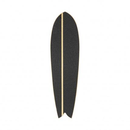 Roots Industries Fish Longboard Deck Top