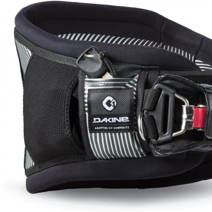 Dakine C1 Kiteboard Harness in Black key pocket