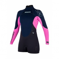 Mystic - Star 3/2 Womens Longarm Shorty Wetsuit Navy