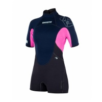 Mystic - Star 3/2 Womens Shorty Wetsuit in Navy