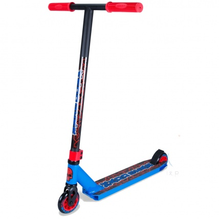 Madd Kick Pro X Stunt Scooter in Blue/Red