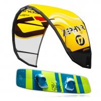 Ozone - Zephyr V5 Lightwind Kitesurf Package