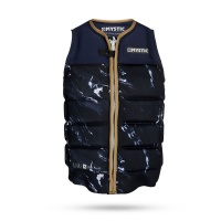 Mystic - Stone Wake Impact Vest Front Zip in Navy