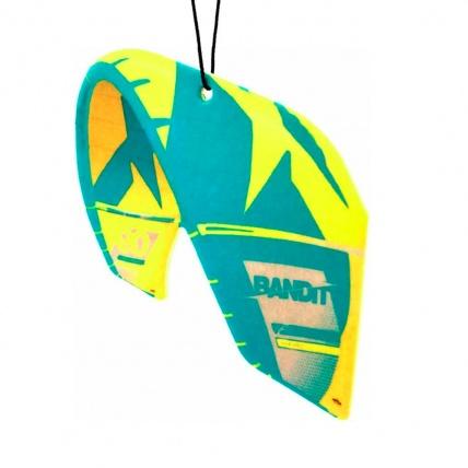 Fresh Kitesurfing F-One Bandit Yellow Car Freshener