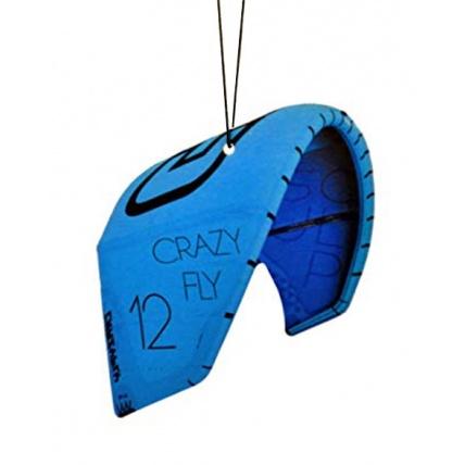Fresh Kitesurfing Crazy Fly Blue Car Freshener