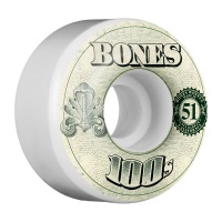Bones - OG Wheels 100's #11 V4 in White 53mm (4pk)