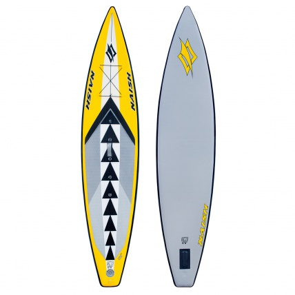 Naish One 12ft 6in Racing/ Touring iSUP Paddleboard top and base