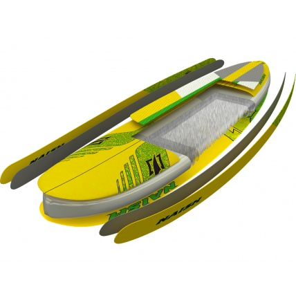 Naish One 12ft 6in Racing/ Touring iSUP Paddleboard construction