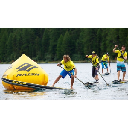 Naish One 12ft 6in Racing/ Touring iSUP Paddleboard in use