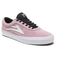 Lakai - Sheffield Pink Suede Skate Shoes