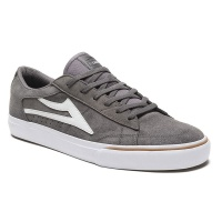 Lakai - Ellis in Grey and White Suede