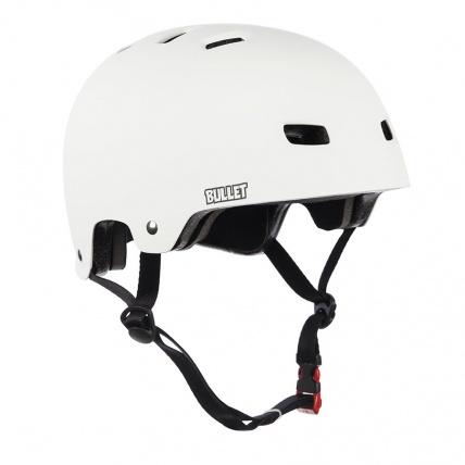 Bullet Helmet in Matte White