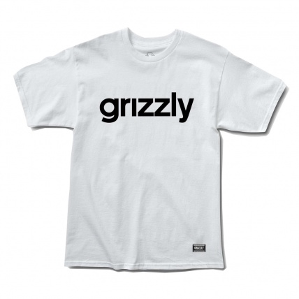 Grizzly Griptape Lowercase Logo Tee