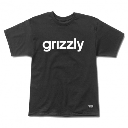 Girzzly Griptape Lowercase Logo Tee in Black