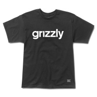 Grizzly Griptape - Lowercase Logo T-shirt in Black