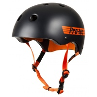 Protec - Classic Pro Bucky Helmet in Black/Orange
