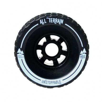 MBS all terrain longboard wheels front