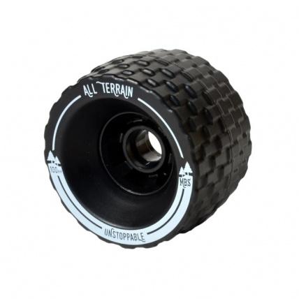 MBS all terrain longboard wheels Side
