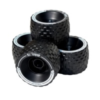 MBS - All Terrain Longboard Wheels Black