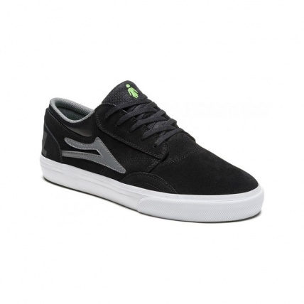 Lakai Griffin in Black and Grey Front