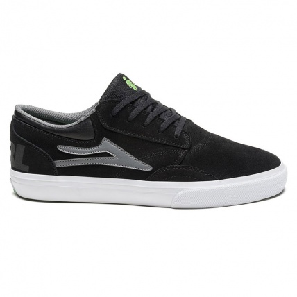Lakai Griffin in Black and Grey