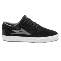 Lakai - Griffin Girl Black and Grey Suede Skate Shoe