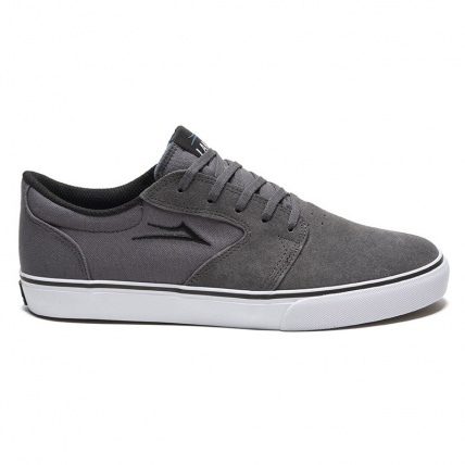 Lakai Fura Skate Shoes in Cement Side
