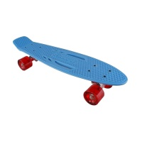 Karnage - Classic Retro in blue with red wheels