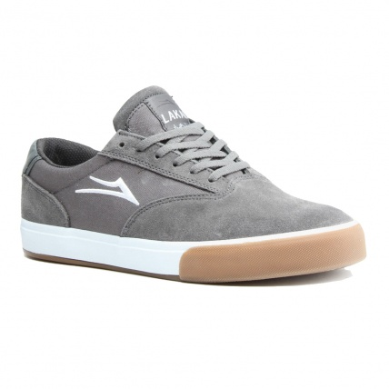 Lakai Guymar in Grey Suede and Gum