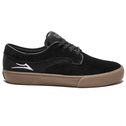Lakai Riley Hawk Black and Gum Suede Side
