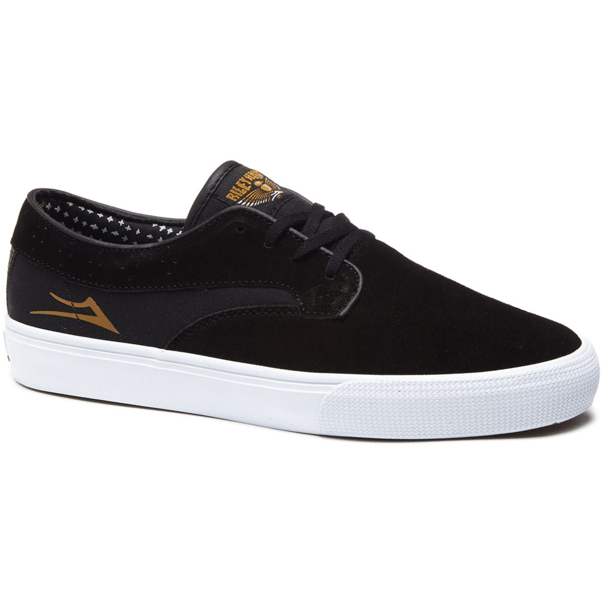 sale Lakai Riley Hawk Black Suede