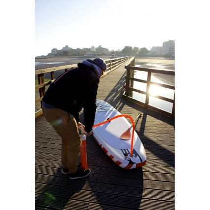RRD Air EVO Stand Up Paddleboard Pumping