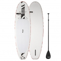 RRD - Air EVO iSUP Board with Fibre Paddle & Leash