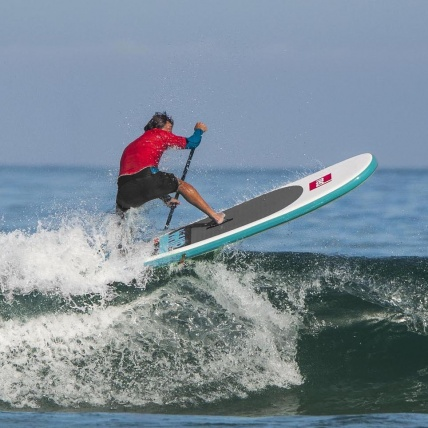 Red Paddle Co Whip Eight Ten MSL Surf iSUP in action