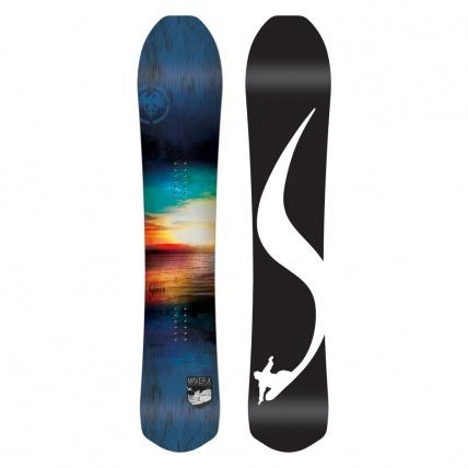 Never Summer Maverix Shaper Series Snowboard white