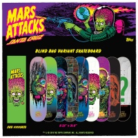 Santa Cruz - X Mars Attack Deck Limited Edition Blind Bag Skate Deck