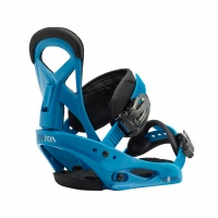 Burton - Mission Smalls Junior Snow Binding Blue Boy