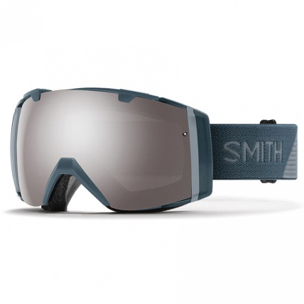 Smith I/O Thunder Spit Platinum Mirror ChromaPop Goggles