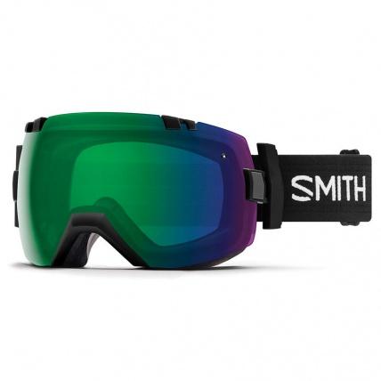 Smith I/OX Black ChromoPop Everyday Green Snowboard Goggles