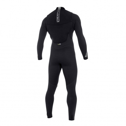 Mystic Star 5/4mm Fullsuit FZ Wetsuit in Black back