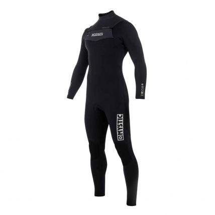 Mystic Star 5/4mm Fullsuit FZ Wetsuit in Black front