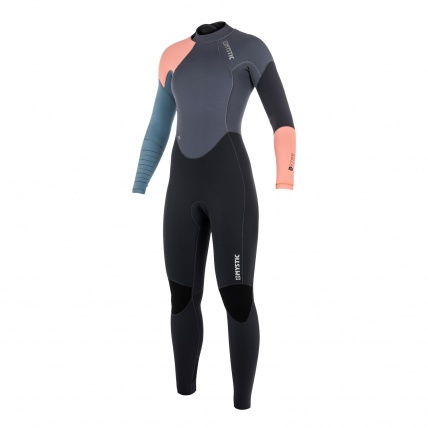 Mystic Dutchess 5/4mm Womens BZ Winter Wetsuit Pewter front