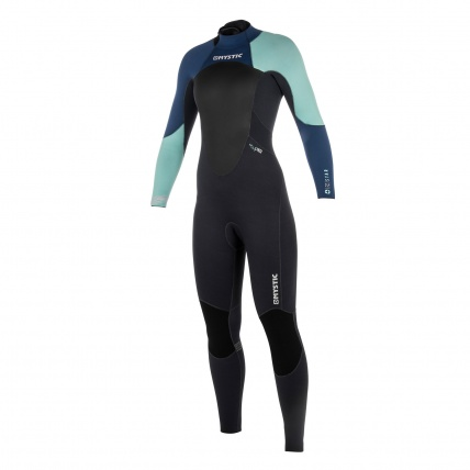 Mystic Star Womens 5/4mm BZ Winter Wetsuit In Navy front