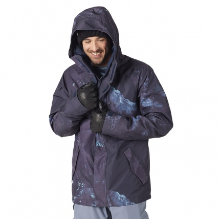 Burton Radial Nix Olympica Gore-Tex Mens Insulated Jacket Front