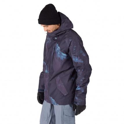 Burton Radial Nix Olympica Gore-Tex Mens Insulated Jacket Side