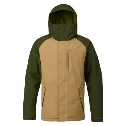 Burton Radial Gore-tex Jacket in Rifle Green Kelp Colour