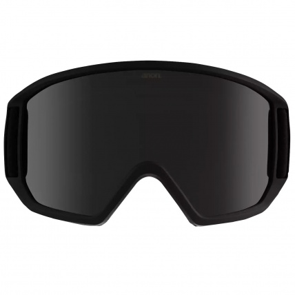 Anon Relapse Smoke with Dark Smoke Lens Snowboard Goggles Front