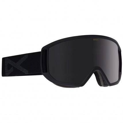 Anon Relapse Smoke with Dark Smoke Lens Snowboard Goggles