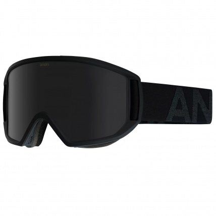 Anon Relapse Smoke with Dark Smoke Lens Snowboard Goggles Right