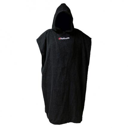 North Core Beach Basha Changing robe in Black